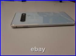 6.1 Samsung Galaxy S10 G973F 128GB white fully functional cracks front and back