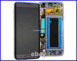 For Samsung Galaxy S7 Edge G935F LCD Touch Screen Display Digitizer+Frame Black