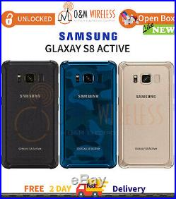 NEW Other Samsung Galaxy S8 ACTIVE 64GB (SM-G892A, GSM Unlocked) All Colors