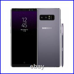 Original Samsung Galaxy Note 8 N950 64GB GSM Unlocked Smartphone AT&T T-Mobile