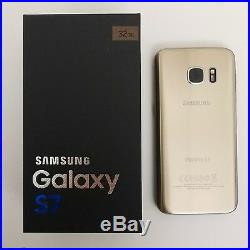 SAMSUNG GALAXY S7 SM-G930F-NEW OTHER MINT CONDITION With SAMSUNG BOX & ACCESSORIES