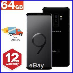 SAMSUNG GALAXY S9 Plus 64GB Unlocked Android Mobile Phone Various Grades & Color
