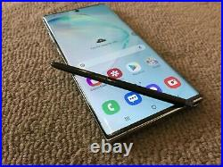 Samsung Galaxy Note10+ 10 PLUS SM-N975F 256GB Aura Glow Unlocked GREAT CONDITION