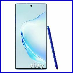 Samsung Galaxy Note10+ Plus N975U 256GB Aura Blue for AT&T and Cricket Wireless