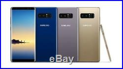 Samsung Galaxy Note 8 64GB 128GB 256GB Unlocked Smartphone All Colours Grades UK