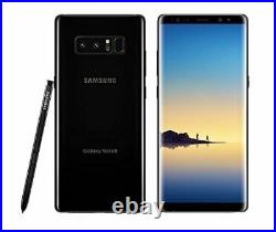 Samsung Galaxy Note 8 N950U 64GB Black T-Mobile Network Only Free Shipping