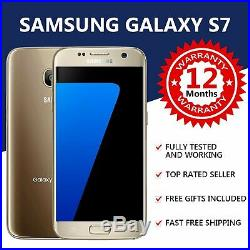 Samsung Galaxy S7 32GB Gold 4G LTE (Unlocked) Android Smartphone