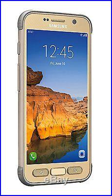 Samsung Galaxy S7 Active G891A 32GB Gold (UNLOCKED AT&T T-Mobile) 4G Smartphone