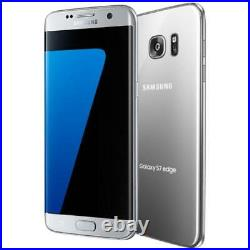 Samsung Galaxy S7 Edge G935A Silver (Factory GSM Unlocked AT&T / T-Mobile)