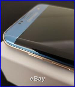 Samsung Galaxy S7 Edge SM-G935A 32GB (AT&T ONLY) Coral Blue Android Smartphone