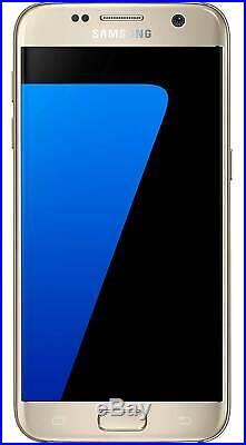 Samsung Galaxy S7 G930 black gold silver 4G Unlocked Android Smart phone