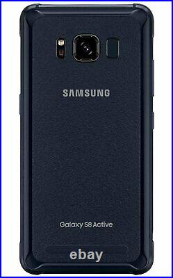 Samsung Galaxy S8 Active Factory Unlocked GSM AT&T T-Mobile 64GB Mint