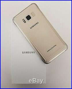 Samsung Galaxy S8 Active G892a 64gb Gold Gsm Unlocked At&t T-mobile Metro Telcel