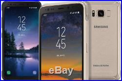 Samsung Galaxy S8 Active G892a Gold At&t/t-mobile/metro/cricket Gsm Unlocked