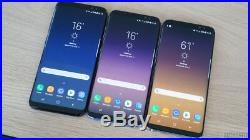 Samsung Galaxy S8 G950U G950U1 SM-G950U Unlocked AT&T T-Mobile Cricket GSM