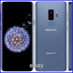 Samsung Galaxy S9+ G965U 64GB Coral Blue GSM Unlocked T-Mobile AT&T Smartphone