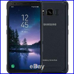 Samsung galaxy S8 Active G892A Factory GSM Unlocked Meteor Gray Gold 4G-LTE TMO